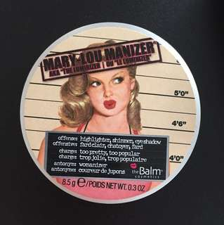 theBalm: Mary-Lou Manizer Highlight