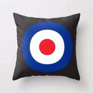 MOD Patterned Cushion Throw Pillow Cover