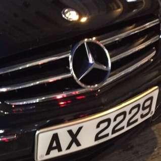 AX2229 古董車牌號碼 割愛🙈