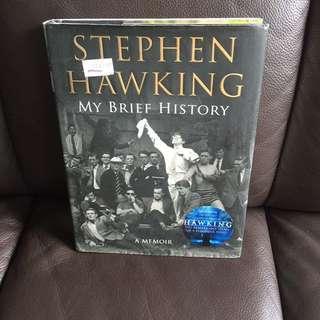 Stephen hawking my brief history