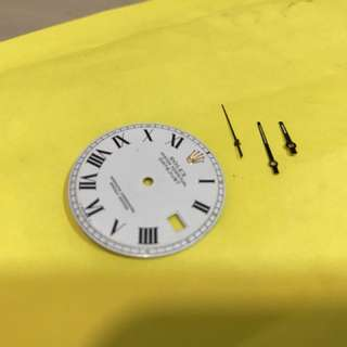 Rolex 1601 buckley Dial with hand set