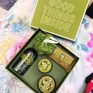 The Body Shop Bath&Body Olive Collection Set