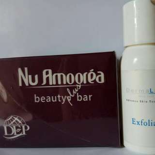 Amoorea beauty pluss & Exfoilant