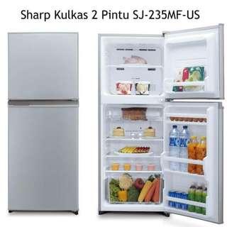 Kulkas/Freezer bisa cicilan murah.