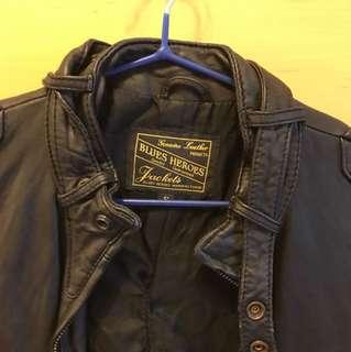 Blues heros leather jacket 皮褸黑色 -original $1500