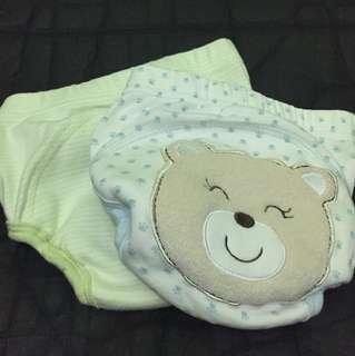 Celana Toilet Training Bear n Green Stripes