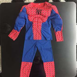 Spiderman Costume - Padded