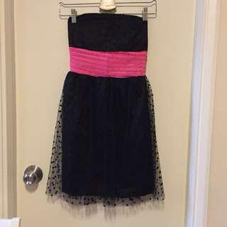 Tube black dress 👗