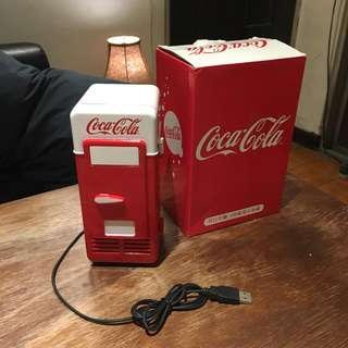 可口可樂 cokecola 收藏小冰箱