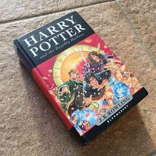 Harry Potter and the Deathly Hallows by J. K. Rowling (Hardback)