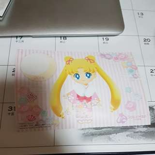 Sailor moon 2018 postcard