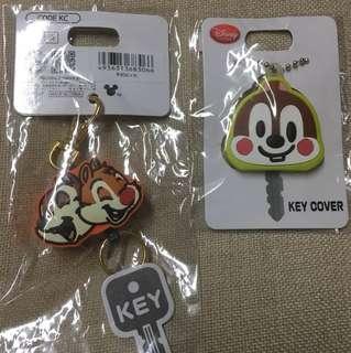 日版 Disney Chip & Dale 鎖匙扣兩個