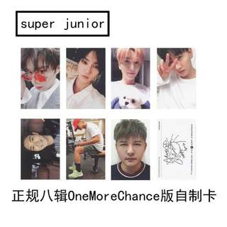 SJ SUPER JUNIOR ONE MORE CHANCE UNOFFICIAL PHOTOCARDS