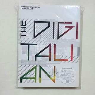 [Reserved] ARASHI The DIGITALIAN Tour DVD (Limited Edition)