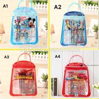 Children's Birthday Party Goodies Bag / Stationery Set