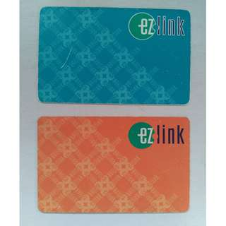 Expired Ezlink Cards