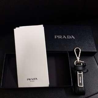 Prada key ring 鎖匙扣