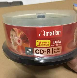 Imation box of 25 CD-R
