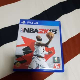 WTS PS4 Games - NBA 2K18,NBA 2K17,FIFA 17