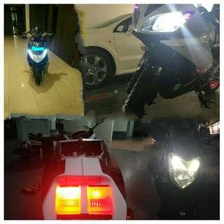 💥Cheapest LED Power Saving Headlight/Brakelights/T10 - 💡High & Low Beam White HeadLight Bulb Plug N Play $5-$15 Each