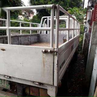 Truck for rent condo mover lipat Bahay debris elf dropside house mover