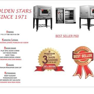 Oven Gas P60 Golden Stars