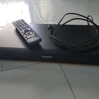 Panasonic  Blue Ray DVD player