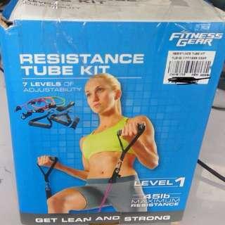 Resistance tube kit