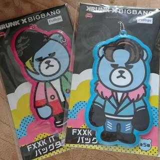 BIGBANG 日本景品 行李牌