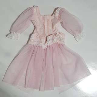 BJD Pink Dress For 1/3 girl