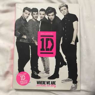 One Direction Where We Are: Our Band, Our Story