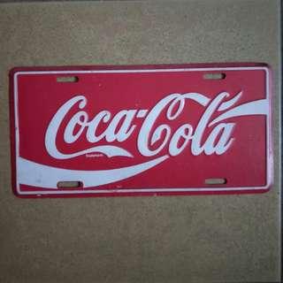 Vintage Coca-Cola metal sign