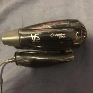 VS hair dryer 可摺旅行風筒