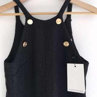 Christopher Esber black dress BNWT Size6