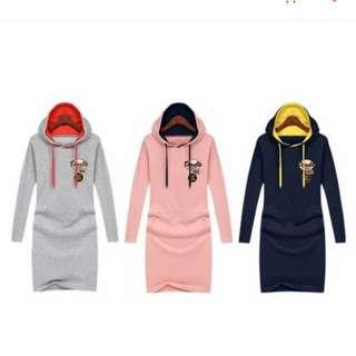 Korean dress w/hood