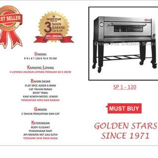 Oven Gas SP1 Golden Stars