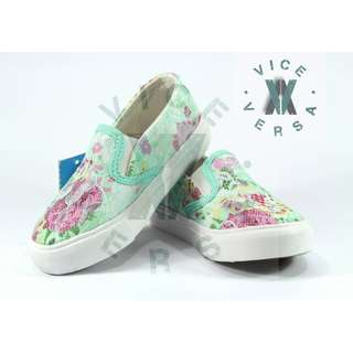 Girls Lace Shoes (Green + Pink)
