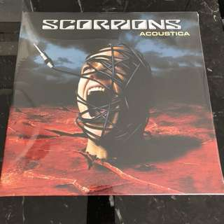 Sold. Scorpions - Acoustica. Vinyl Lp new