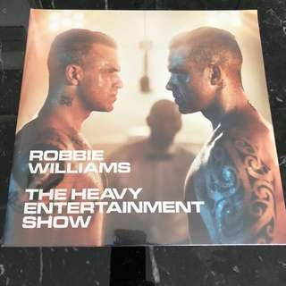 Robbie Williams- the heavy entertainment show. Vinyl Lp new