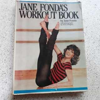 vintage Jane Fonda workout book