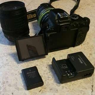 Nikon DSLR D5100 With 2 Lens