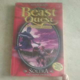 Beast Quest - The Golden Armour - Soltra The Stone Charmer