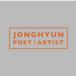 SHINEE JONGHYUN - POET l ARTIST