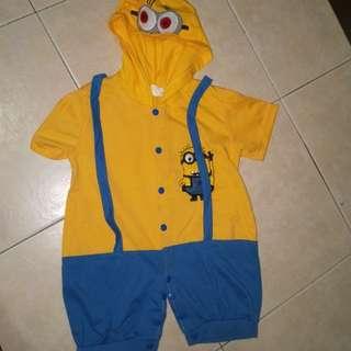 Minion jumpsuit