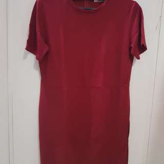 NEW Maroon dress by Bench