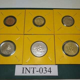 Set lengkap syiling singapore siri -2