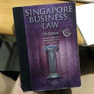 AB1301: Business Law | Singapore Business Law 7th Edition