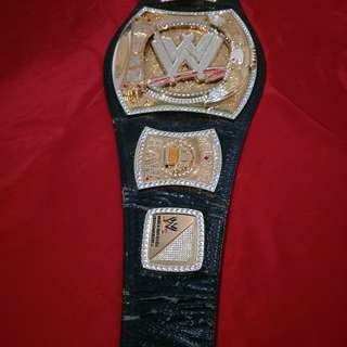 WTS: WWE / WWF Championship Spinner Replica Title Wrestling Belt Leather Peal Long History