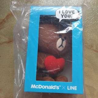 Valentine's Present-BROWN:I LOVE U