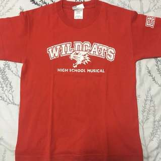 HSM Wildcats Shirt from Disneyland